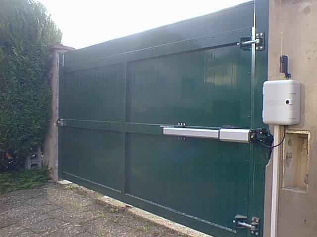 Portail Battant 1 Vantail 3M Portail Coulissant Design Aluminium
